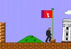 Волгоградского губернатора изобразили в виде Супер Марио
