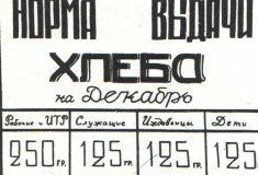Губернатор Петербурга утвердил нормы выдачи хлеба на случай войны