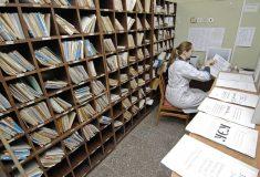 Пациентам екатеринбургской больницы вместе с талонами выдавали десять заповедей