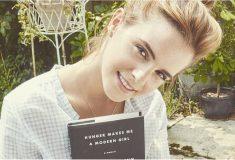 «Я буду бороться ещё сильнее». Эмма Уотсон спрятала книги о феминизме в Нью-Йоркском метро