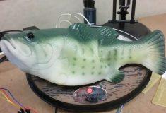 Мужчина подключил голосового помощника к «поющей рыбе»