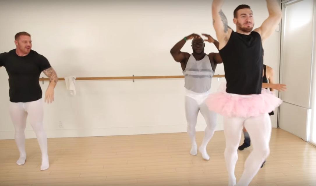 «Двигайте ножками, парни». Бодибилдеры пробуют балет