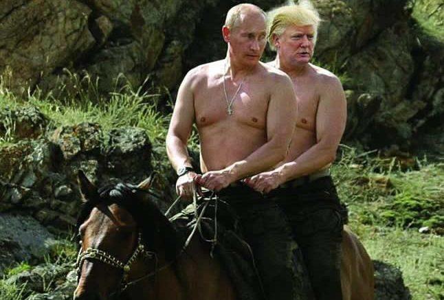 «Песня неплохо качает». Клип про Трампа и Путина, с которым «лучше не связываться», посмотрели 1,5 млн раз
