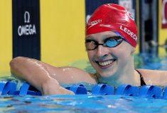 То чувство, когда ты олимпийский чемпион по плаванию и соревнуешься с однокурсниками