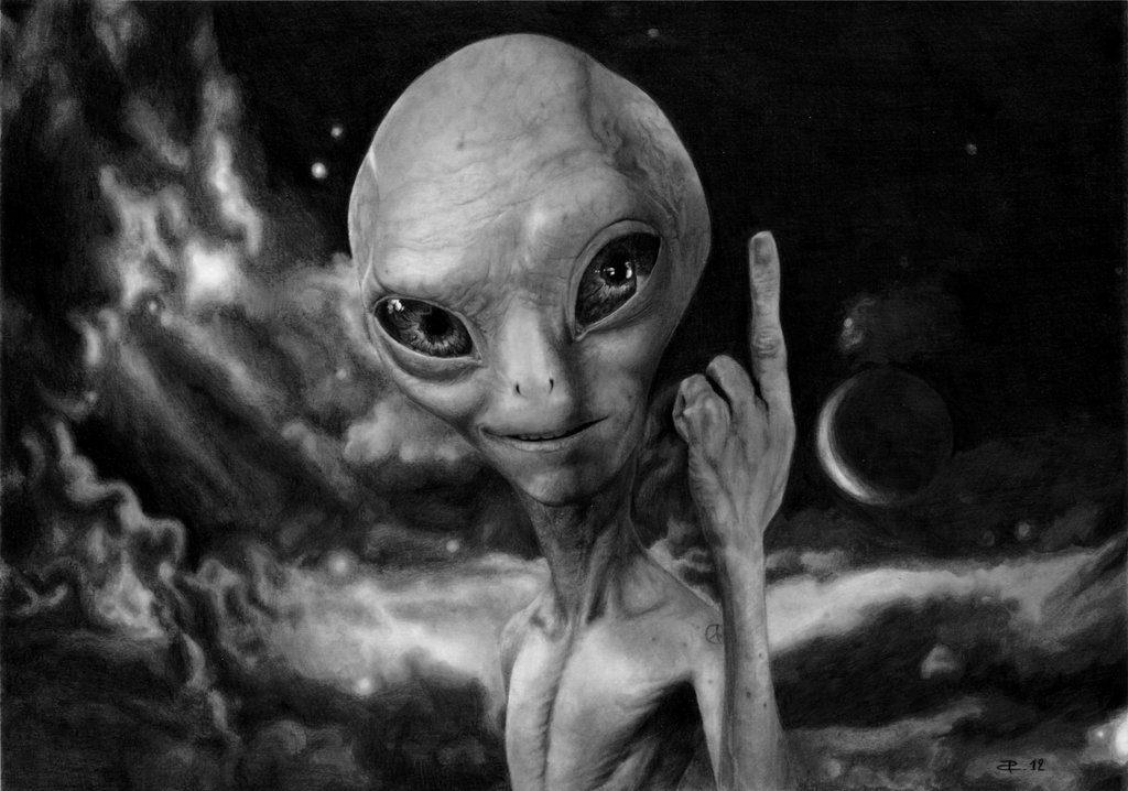 картинки нло с пришельцами тома несколько татуировок