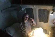 Девушка уступила место в самолёте семье с детьми и в результате летела первым классом вместо эконома