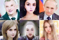 Редакция Medialeaks превратила Путина, Сечина и самих себя в кавайных няшек с помощью приложения Meitu