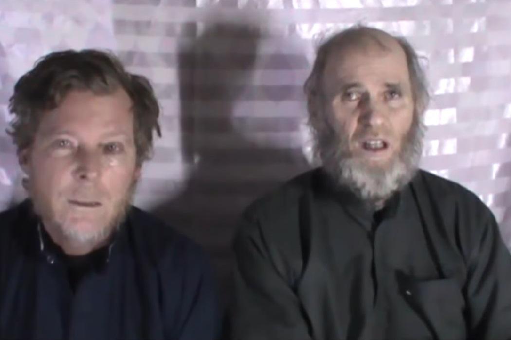 Американец и австралиец в плену у талибов попросили свои правительства о помощи