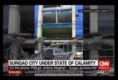Мощное землетрясение на юге Филиппин: более 120 раненых, есть погибшие