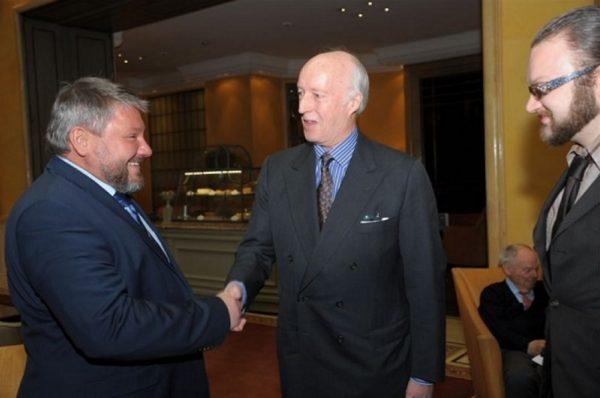 Антон Баков и император Николай III. medialeaks