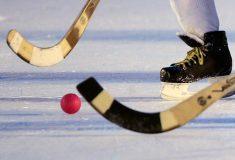 В матче чемпионата по хоккею с мячом две команды забили 20 голов в свои ворота. И ни одного в чужие