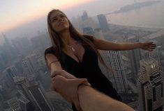 Бывшая девушка Егора Крида рисковала жизнью ради селфи на крыше небоскрёба в Дубае