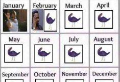 Фиолетовый голубь, бьющийся в агонии, стал главным мемом фейсбука