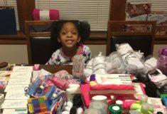 «Хорошо быть хорошей». Шестилетняя девочка накормила бездомных на деньги, предназначенные для её дня рождения