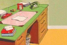 Что не так на столе? Загадка для трудоголиков и не только