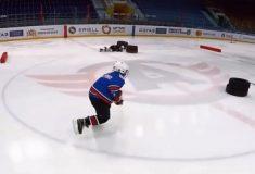 Детская хоккейная тренировка собрала миллионы просмотров в соцсетях. И это не случайно