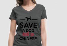 Магазин раскритиковали за призыв есть китайцев вместо собак. Но сами критики тоже оказались немного расистами