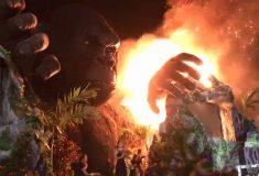 На премьере нового «Кинг-Конга» во Вьетнаме загорелась гигантская статуя гориллы