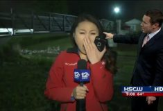 «Выглядит немного уставшей, не правда ли?» Вместо прогноза погоды на канале в США показали зевающего репортёра