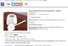 «Мне больше нравится туалетная бумага». Мужчина написал отзыв о туалетном ёршике и оставил интернет в недоумении