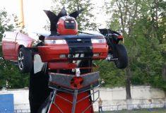 Отец и сын создали автомобиль-трансформер на базе «Лады», и он довольно забавный