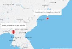 «О ракете ПВО узнала из новостей». В соцсетях обсуждают падение ракеты КНДР рядом с Россией