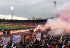 В Туле фанаты «Спартака» попытались поджечь стадион из-за проигрыша «Арсеналу»