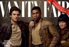 К сорокалетию «Звёздных войн» журнал Vanity Fair вышел сразу с четырьмя тематическими обложками