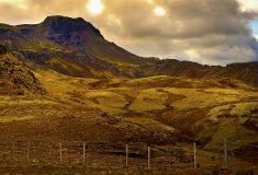 Кто-то оставил мем на мшистом холме в Исландии, и местным придётся смотреть на это десятки лет