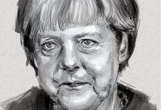«Что ты скажешь своей девушке?» Парень обещал сделать тату с изображением Меркель на деликатном месте за лайки и сдержал слово