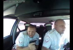 Как выглядит погоня полиции за подозреваемыми в реальной жизни. Случай в Волгоградской области