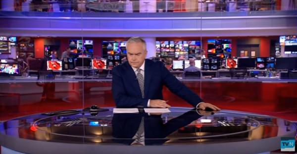 Ведущий BBC 4 мин. молчал впрямом эфире