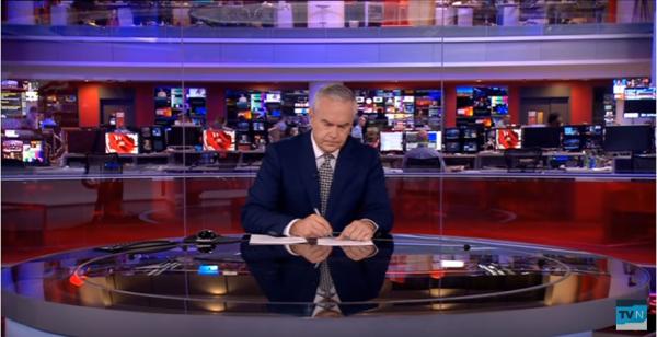 Ведущий новостей ВВС 4 мин. молчал впрямом эфире