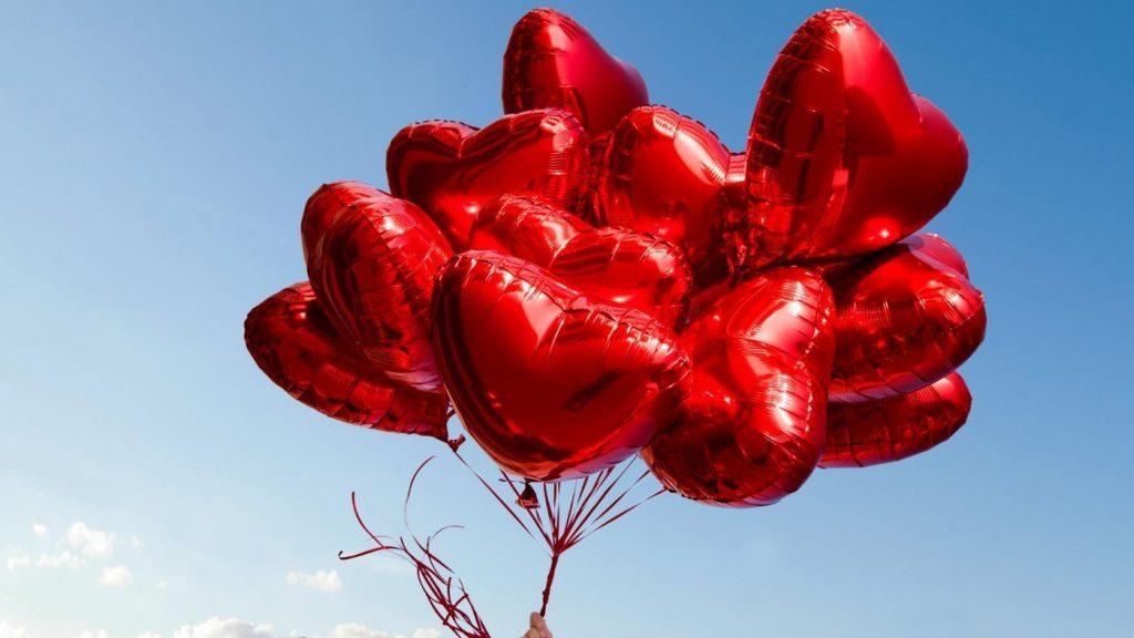 добавляете видео, фото воздушных шариков сердец курабье