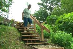 Канадец построил лесенку в парке на 64 000 долларов дешевле, чем предлагали власти. Теперь её хотят снести