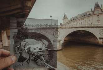 Окно в прошлое. Азербайджанский фотограф с потрясающей точностью воспроизводит исторические снимки