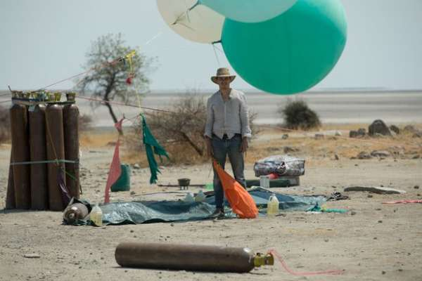 Экстремал пролетел навоздушных шарах 25км