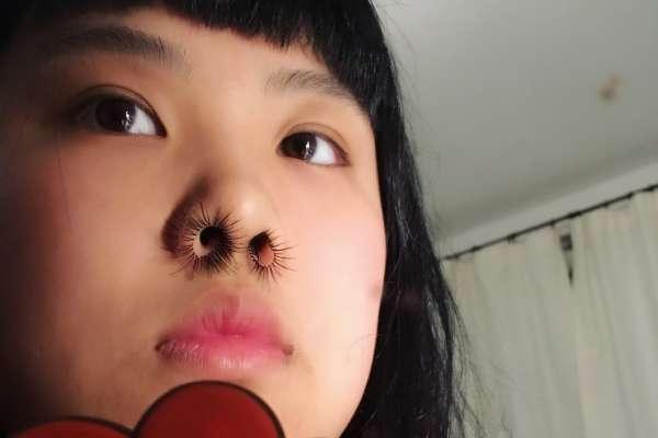 Волосы из носа