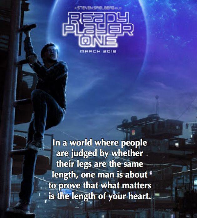 Вглобальной сети раскритиковали постер нового фильма Спилберга из-за длинной ноги основного героя