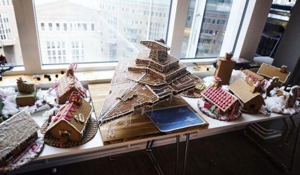 Фэндом: Пряничный домик на Рождество? Забудьте. Ведь есть пряничный Звёздный разрушитель