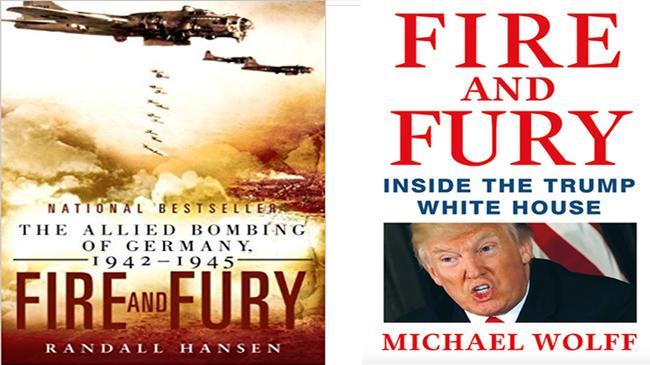 Читатели путают книгу с критикой Трампа и книгу о Второй мировой. Последняя уже стала бестселлером
