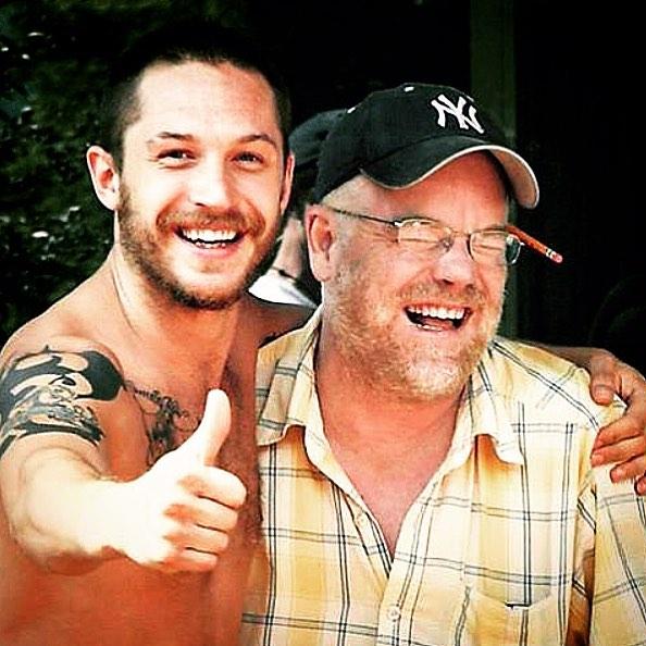 Том Харди набил тату сименем ДиКаприо