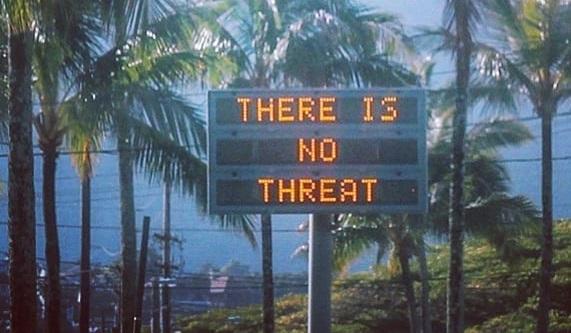 Граждане Гавайских островов пережили 38 мин. «ракетной тревоги»