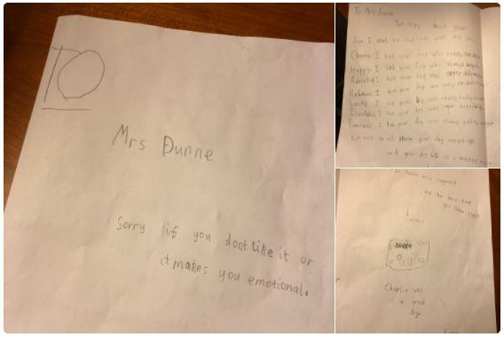 Мальчик написал трогательное письмо учительнице, у которой умерла собака. Готовьте платочки