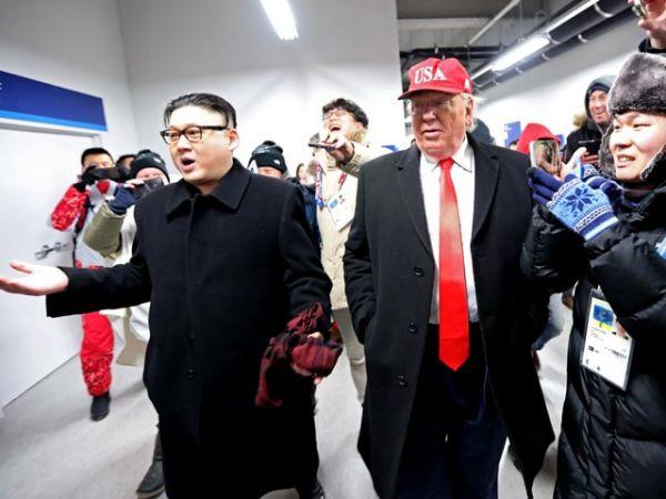 Двойники Трампа и Ким Чен Ына на Олимпиаде. Кто они и зачем приехали на церемонию открытия