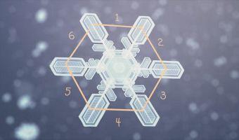 В NASA разработали 3D-модель таяния снежинки. И это самая весенняя гифка, что вы увидите сегодня