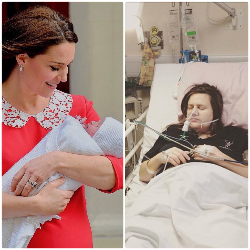 293b223ddb0e ... 7 часов после рождения ребёнка и я спустя 7 часов после рождения  ребёнка 😂 Я конечно понимаю, что ей целая куча людей помогала так хорошо  выглядеть, ...