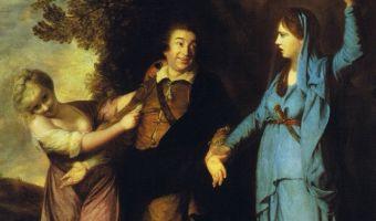 Мем про неверного парня и девушку в красном придумали ещё в 18 веке. Герои другие, но смысл тот же