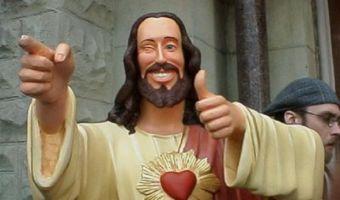 Вместо Библии — шаурма и Бритни Спирс. Новый мем твиттера о том, кто, если не Бог, решит все ваши проблемы