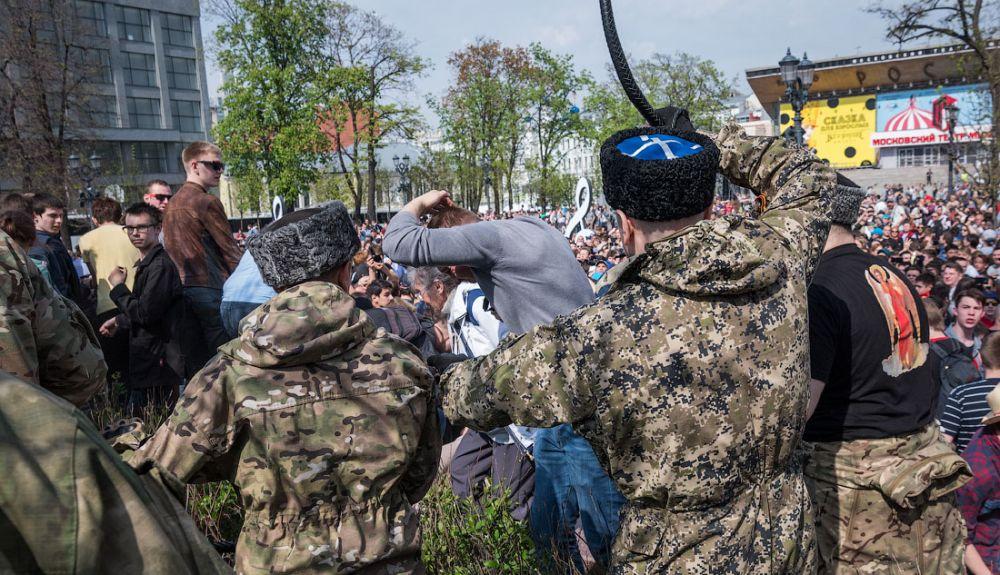 У Москві відбувається акція протесту, затримано близько 300 осіб - Цензор.НЕТ 5956